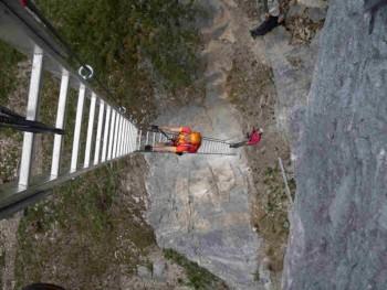 Klettersteig Beisteinmauer - Mammut Klettersteig
