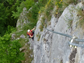 Kletterzentrum Trattenbach - Großalber Klettersteig