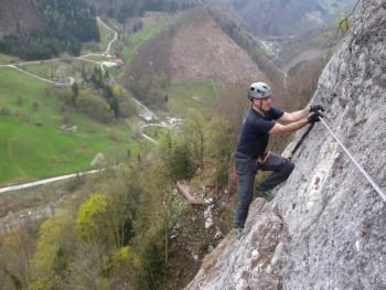 Trattenbacher Klettersteig Beisteinmauer